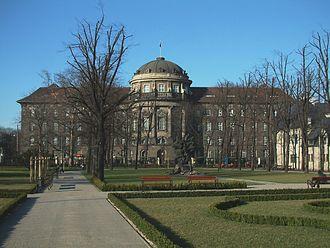 Prussian Settlement Commission - Former seat of the Prussian Settlement Commission, now Poznań University's Collegium Maius