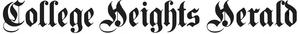 College Heights Herald - Image: College Heights Herald script logo