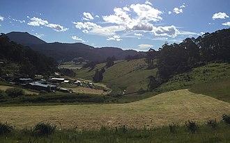 Collinsvale, Tasmania - Image: Collinsvale, Tasmania
