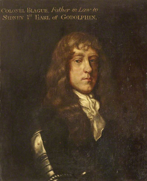 Thomas Blagge - Colonel Thomas Blagge by English School now owned by the UK national trust