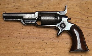 Colt Model 1855 Sidehammer Pocket Revolver - Colt Root 1855 Revolver, Model 2, cal .28
