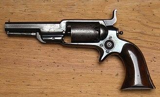 Colt Model 1855 Sidehammer Pocket Revolver - Colt Root 1855 Revolver, Model 2, cal .28