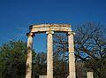 Columnes del Filipeu d'Olímpia.JPG