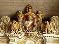Commana (29) Église Saint-Derrien Retable des cinq plaies 09.JPG