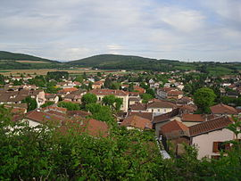 A general view of Communay