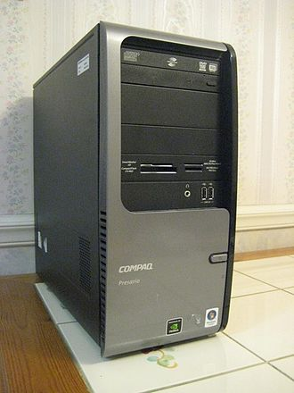 Compaq Presario - Image: Compaq Presario SR5130NX