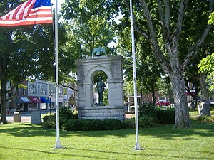 Confederate Monument in Russellville - Image: Confed Monument Russellville