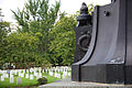 Confederate Monument - NW past base - Arlington National Cemetery - 2011.JPG