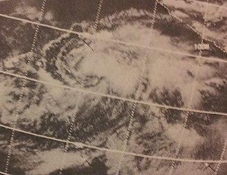 1970 Pacific hurricane season - Image: Connie Jun 1719702222z