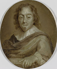 Portrait of Constantijn Huygens, Poet, Secretary to Prince Frederick Henry and Prince William II and First Councilor and Exchequer to William III