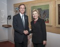 Consumer Reports - Jim Guest meets Hillary Clinton - 2006.tif