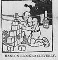 Corbett-vs-Hanlon match cartoon - HANLON BLOCKED.jpg
