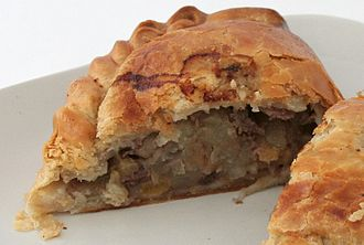 Cornish cuisine - A Cornish pasty