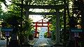 Corridor torii of the Hiyoshi-jinja in Noshiro.jpg