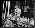 Cosmetics tested at Department of Agriculture. Washington D.C., July 10. In hair dyes and hair tonics there is sometimes found lead acetate, this is absorbed slowly into the system where it LCCN2016872081.jpg