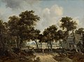 Cottages in a Forest by Meindert Hobbema Mauritshuis 1061.jpg