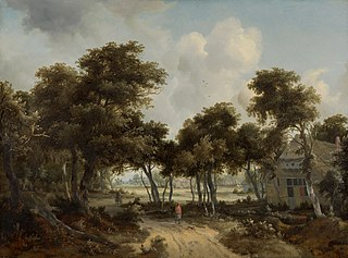 Cottages in a Forest