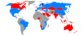 Countries visited by Finland's President Tarja Halonen during her presidency 2000 to 2012.png