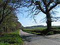 Country road in West Devon, part of the National Cycle Route 27 - geograph.org.uk - 1830871.jpg