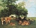 Courbet Mittagsrast während der Heuernte 1867.jpg