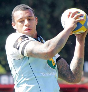 Courtney Lawes Rugby player