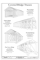 Covered Bridge Trusses - Pine Grove Bridge, Spanning Octoraro Creek at Ashville and Forge Roads, Pine Grove, Lancaster County, PA HAER PA-586 (sheet 2 of 7).png