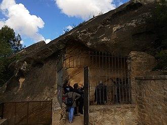 Roca dels Moros - Image: Coves del Cogul 1