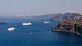 Crater rim - view from Athinios port - Santorini - Greece - 03.jpg