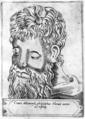 Crates Atheniensis - Illustrium philosophorum et sapientum effigies ab eorum numistatibus extractae.png
