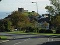 Criccieth Castle from Caernarfon Road - panoramio.jpg