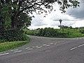 Croesffordd Llannerch . Junction - geograph.org.uk - 469298.jpg