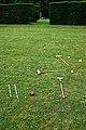 Croquet lawn at Easton Lodge Gardens, Little Easton, Essex, England 2.jpg