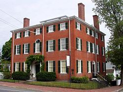 Cushing House Museum and Garden - Newburyport, Massachusetts.JPG