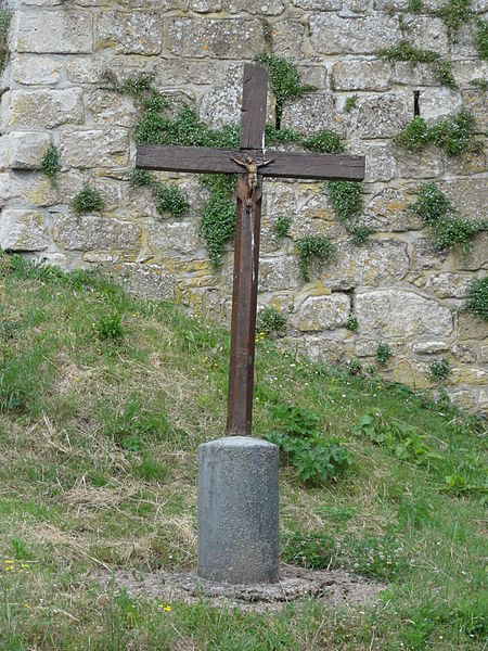 Cutry (Aisne) croix de chemin