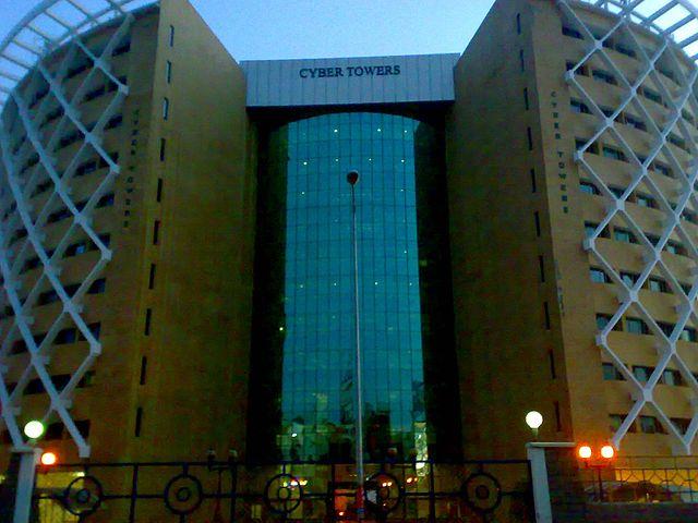 File:Cyber Tower, Hitech city,Madhapur, hyderbad.jpg ...