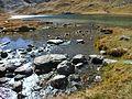 Début Ubayette à la sortie du lac du Lauzanier 2014-10-17 11-23.JPG