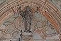 Détail du tympan de la porte de l'église de Loché (71) - 3.JPG