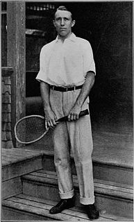 Robert Wrenn American tennis player