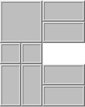 Klotski - Pennant Puzzle / Dad's puzzle
