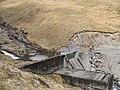 Dam, Allt Coire a' Ghathalach - geograph.org.uk - 777440.jpg