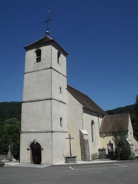 Eglise de Dampjoux, Doubs, France