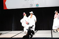 Dancing at the Wikimania 2015 Opening Ceremony IMG 7579.JPG