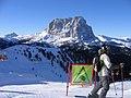 Dantercepies 2.305 m -View from Val Gardena-Langkofel (Sasso Lungo) - panoramio.jpg