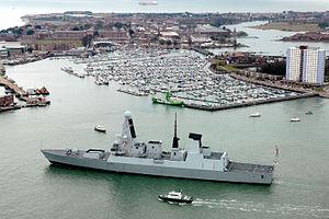 Haslar - Image: Daring Class Destroyers MOD 45151053