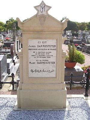 James Darmesteter - James Darmesteter's tomb