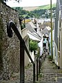 Dartmouth, handrail on Horn Hill - geograph.org.uk - 1468147.jpg