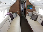 Dassault Falcon 7X aft cabin and bedroom.JPG