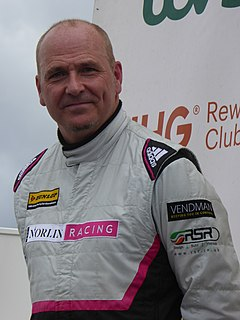 Dave Newsham Scottish racing driver.