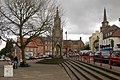 Daventry, High Street and Market Square and market cross - geograph.org.uk - 1729537.jpg