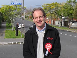 English: David Shearer, New Zealand Labour Par...